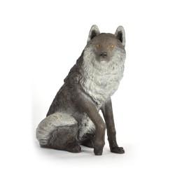 FB sitzender Wolf