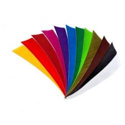 4 Zoll Shield weiss / RW / einfarbig