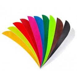 Naturfeder 5 Zoll RW einfarbig